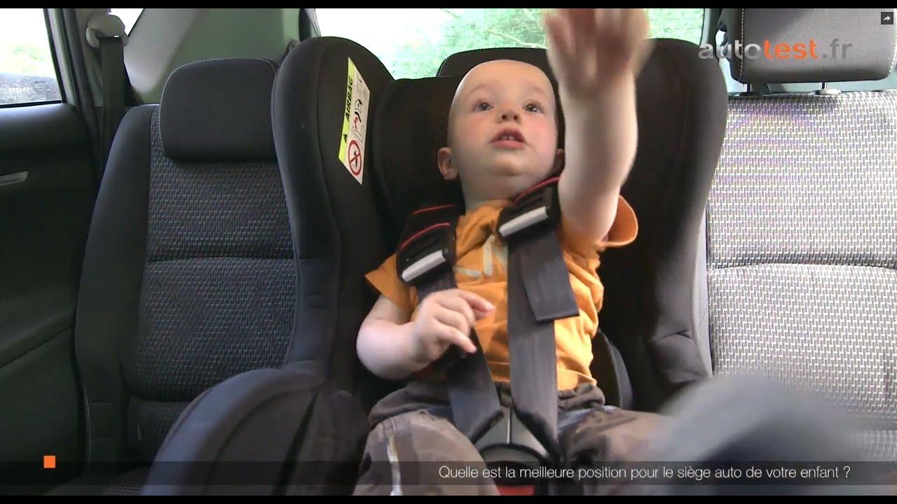 Comment placer un siège auto dans votre véhicule?
